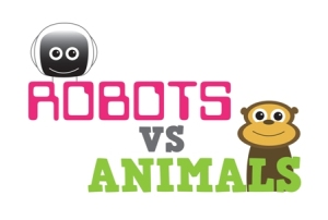 Robots v Animals logo small